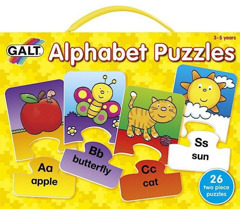 Play And Learn - Alphabet Puzzles - Galt