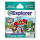 LeapFrog Explorer™ Learning Game: Hasbro Transformers Rescue bots Race to the Rescue