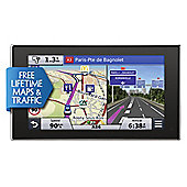 "Garmin nuvi 3597LMT Sat Nav, 5"" LCD Touch Screen with Lifetime Map Updates & Traffic across Western Europe"