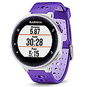 Garmin Forerunner 230 GPS Watch Purple and White