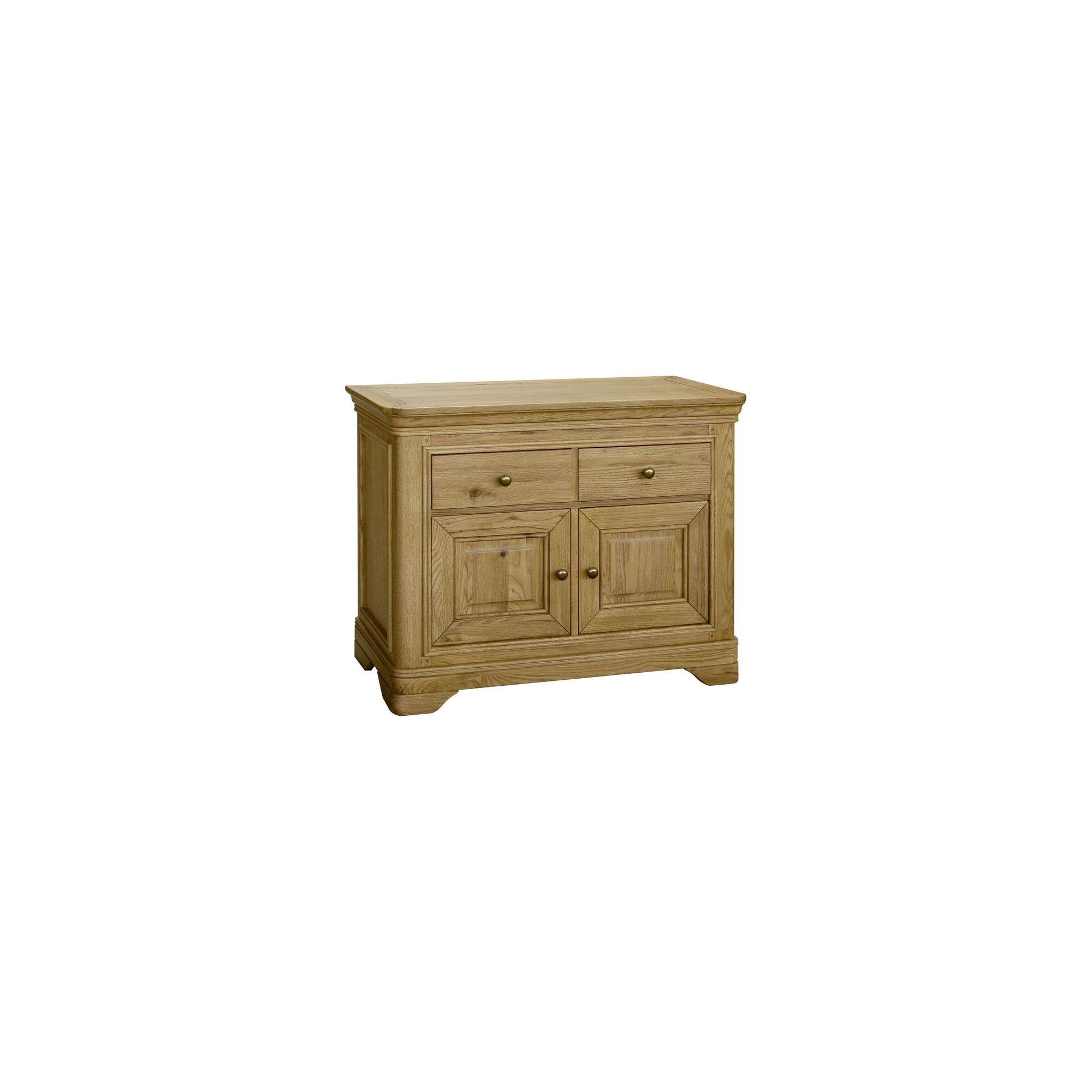 Kelburn Furniture Loire Small Sideboard in Light Oak Stain and Satin Lacquer at Tesco Direct