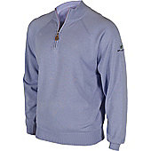 Stuburt Mens Half Zip Lined Golf Sweater - Navy