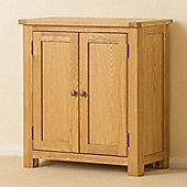 Roseland Oak Cupboard - Waxed Oak