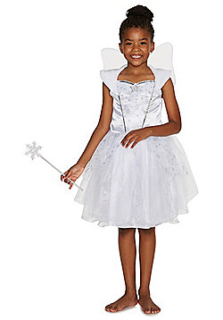 F&F Snow Fairy Dress-Up Costume - White