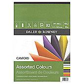 Canford Asst Colour Pad A3