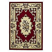 Oriental Carpets & Rugs Marakesh Red Rug - 270cm L x 180cm W