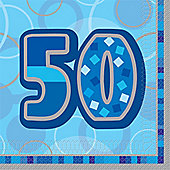 50th Luncheon Napkins