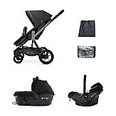 Cocnord Wanderer Travel Set, Raven Black
