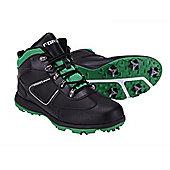 Forgan Golf Winter Boots V3.0 Fully Waterproof Black/Green - Multi