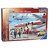 Ravensburger Happy Days The Air Hostess 500 Piece Jigsaw Puzzle