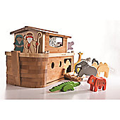 Teamson EverEarth Giant Noah's Ark with Animals and Figures