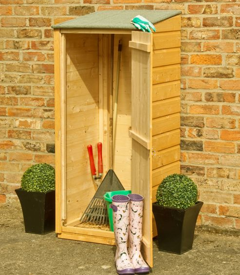 Buy 2x2 finewood garden store from our garden storage for Garden shed tesco