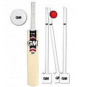 Gunn and Moore Flare Moulded Size 6 Bat / Ball / Stumps & Bag Cricket Set