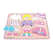 Bigjigs Toys BB057 Dressing Girl Puzzle