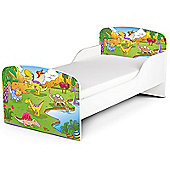 PriceRightHome Dinosaur Toddler Bed