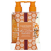 Calcot Manor Spa Loves Hands Gift Set