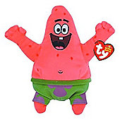 Ty Beanie Baby - Spongebob Squarepants Patrick Star Best Day Ever Soft Toy