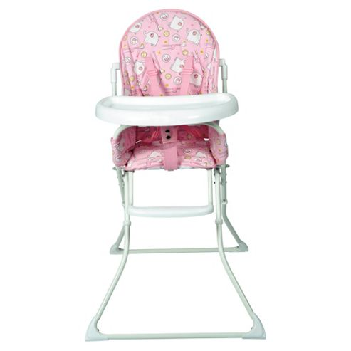 Red Kite Feed Me Highchair Hello Ernest, Pink
