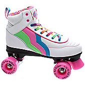 Rio Roller Quad Skates - Candi - UK 7 - White