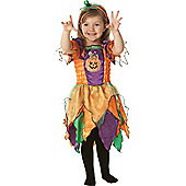 Child Pumpkin Witch Costume Toddler