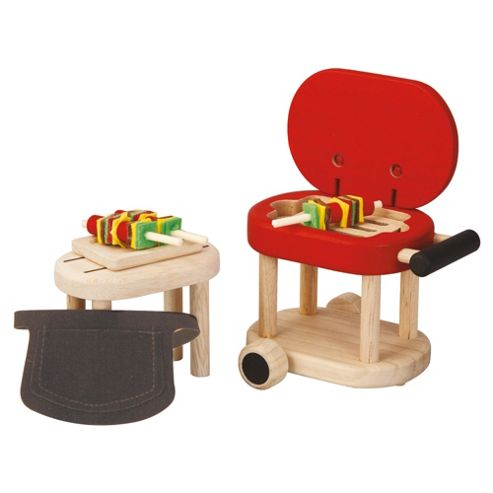 Plan Toys Barbecue Wooden Toy Set