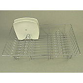 Apolloh 2918 Flat Wire Dish Drainer Chrome