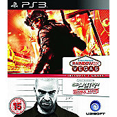 Ubisoft Double Pack - Rainbow Six Vegas & Splinter Cell Double Agent - PS3
