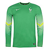 2014-15 France Home World Cup Goalkeeper Shirt (Green) - Green