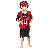Pirate Boy - Toddler Costume 2-3 years