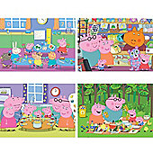 Jumbo Peppa Pig 35 Piece Puzzle