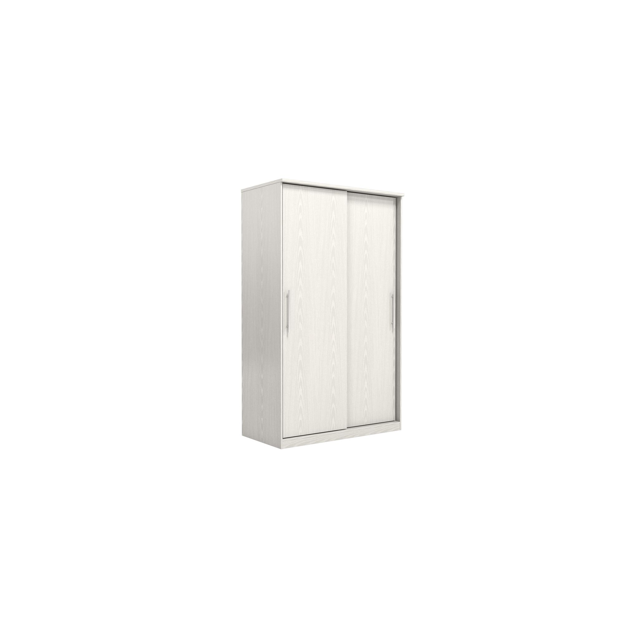 Urbane Designs Prague 2 Door Sliding Wardrobe - White at Tesco Direct