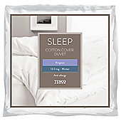 Tesco Cotton Cover 13.5 Tog Anti Allergy Duvet King