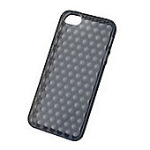 Tortoise™ Soft Shell Gel Raindrop Case iPhone 5 Black