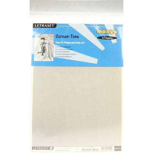 Letraset Screen-Tone 1pk A4 - MT217