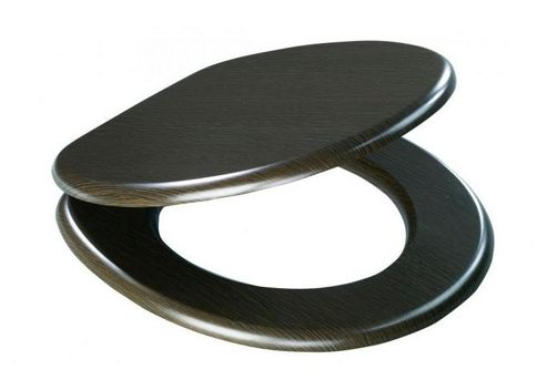 Sanwood Sylt Toilet Seat in Wenge
