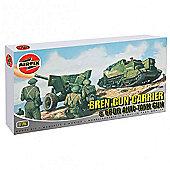 Bren Gun Carrier & 6PDR Anti-Tank Gun (A01309) 1:76