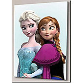 Disney Frozen Elsa and Anna Large Canvas Art