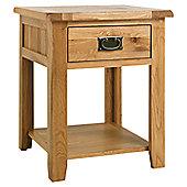Ametis Westbury Reclaimed Oak Lamp Table