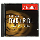 Imation DVD+R DL 8x 8.5 GB Disc 10-pack