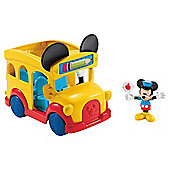 Mickey Mouse Slidin School Bus