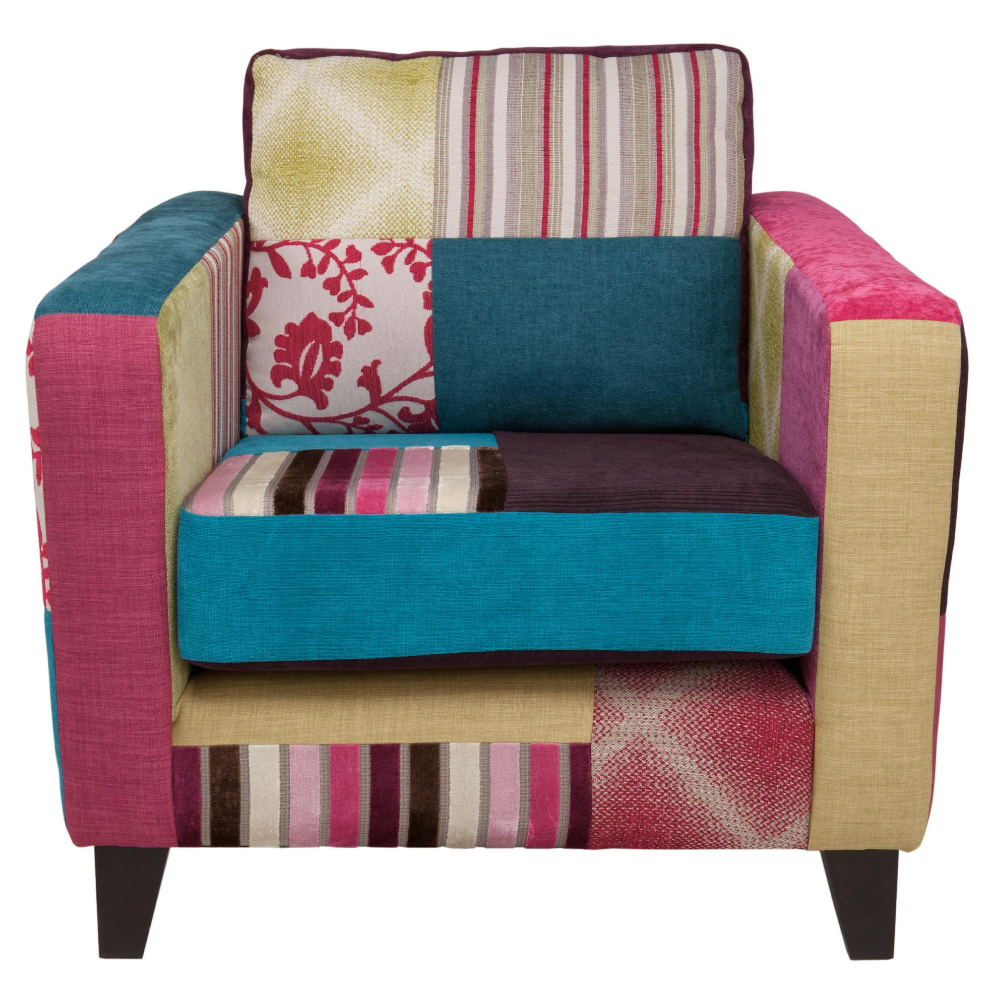 Patchwork chair at Tesco Direct