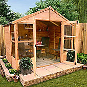 BillyOh 4000M 6 x 8 Tete a Tete Tongue and Groove Summerhouse
