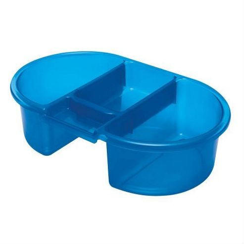buy tippitoes top n tail bowl blue from our bath tubs range tesco. Black Bedroom Furniture Sets. Home Design Ideas