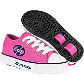 Heelys Pure Fuchsia/Navy Kids Heely Shoe - Pink