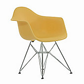 Charles Eames Inspired Eiffel DAR Cream Dining Chair