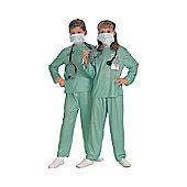 Rubie's Fancy Dress - Child ER Doctor Costume - Medium UK Size 5-7 years