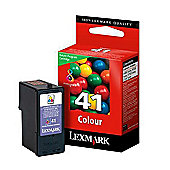 Lexmark Colour No 41 Colour Return Program Print Cartridge for X9575/X7675