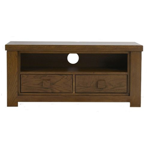 Mark Harris Dark Oak 2 Drawer Barcelona TV Stand