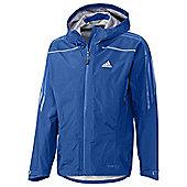 Adidas Terrex Gore-Tex Active Shell Mens Running / Mountain / Ski Jacket - Blue