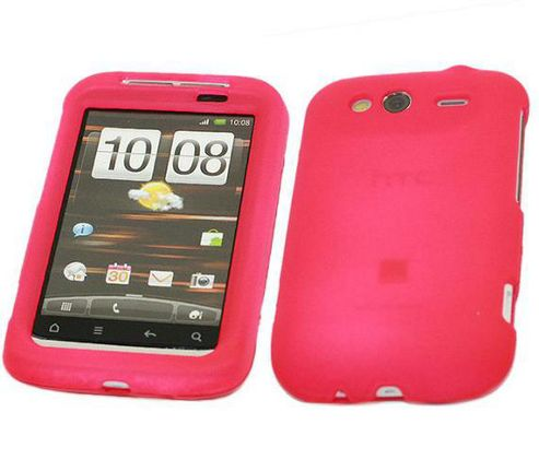 iTALKonline SnapGuard Protection Case Pink - For HTC WildFire S